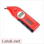 Измеритель давления в шинах цифровой и измеритель глубины протектора красный