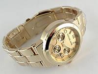 Часы Michael Kors золотой циферблат и корпус цвета золото