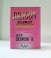 Полусинтетическая жидкость для автоматических коробок передач DRAGON ATF DEXRON III