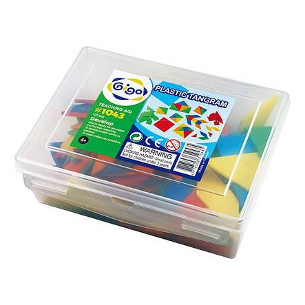 Развивающие и обучающие игрушки «Gigo» (1043) набор Танграм, фото 2