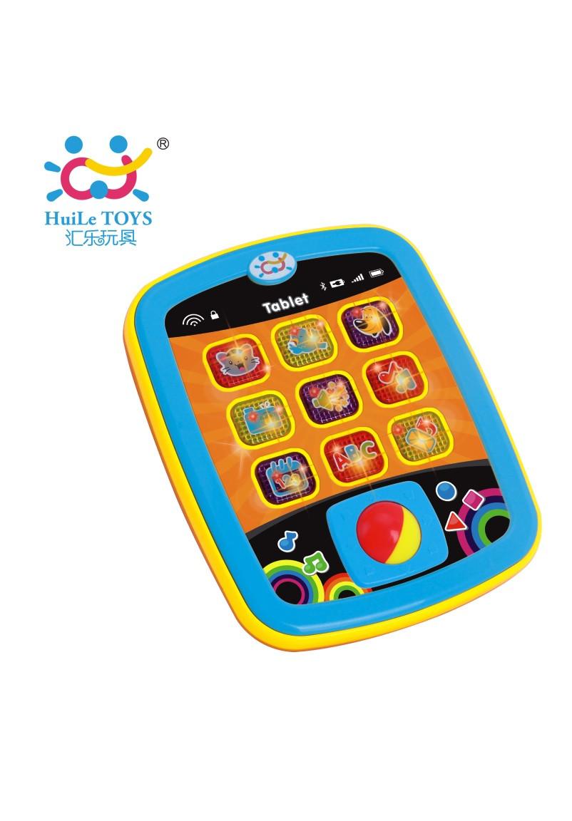 Развивающие и обучающие игрушки «Huile Toys» (996) Мини планшет (звук. эффекты)
