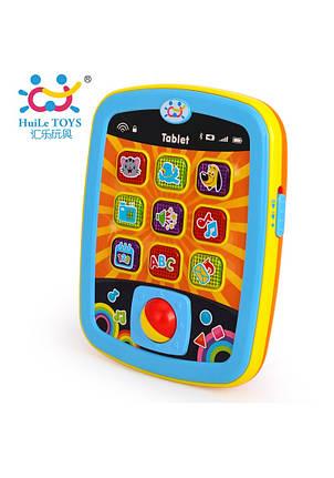 Развивающие и обучающие игрушки «Huile Toys» (996) Мини планшет (звук. эффекты), фото 2