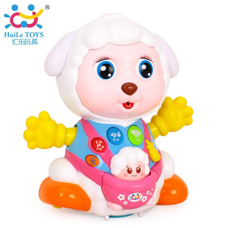Развивающие и обучающие игрушки «Huile Toys» (888) Счастливая овечка (звук. эффекты)