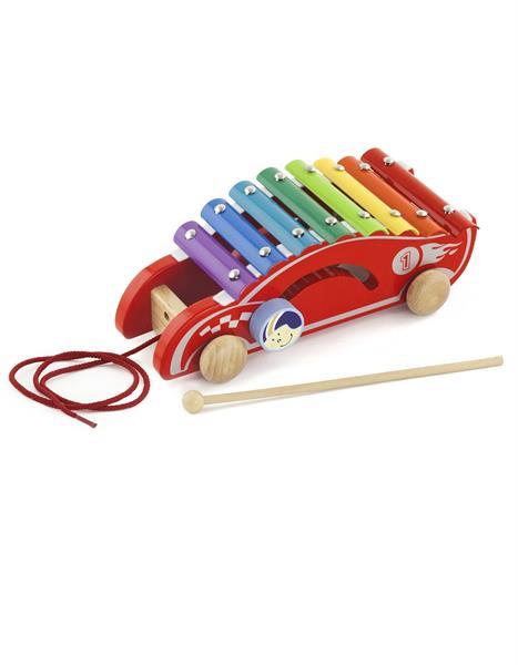 Развивающие и обучающие игрушки «Viga Toys» (50341) каталка Машинка