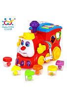 Развивающие и обучающие игрушки «Huile Toys» (556) Паровозик (звук. эффекты)