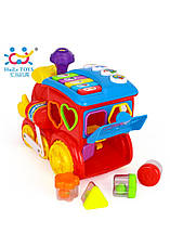 Развивающие и обучающие игрушки «Huile Toys» (556) Паровозик (звук. эффекты), фото 2