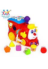 Развивающие и обучающие игрушки «Huile Toys» (556) Паровозик (звук. эффекты), фото 3