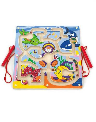 Развивающие и обучающие игрушки «Viga Toys» (50123) лабиринт Подводный мир, фото 2