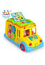 Развивающие и обучающие игрушки «Huile Toys» (796) Школьный автобус (звук. эффекты), фото 3