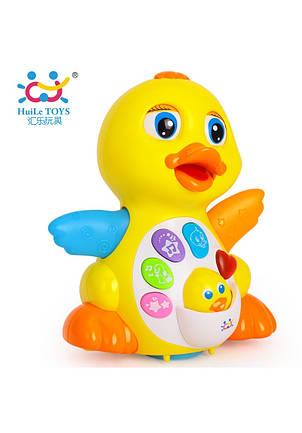 Развивающие и обучающие игрушки «Huile Toys» (808) Желтый утенок (звук. эффекты), фото 2