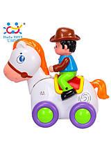 Развивающие и обучающие игрушки «Huile Toys» (838A) Ковбой на веселой лошади (звук. эффекты), фото 3