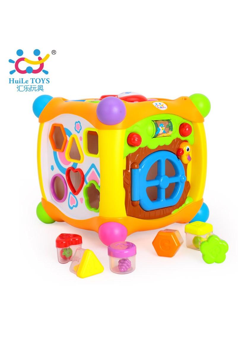 Волшебный кубик (звук. эффекты) «Huile Toys» (936)