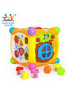 Развивающие и обучающие игрушки «Huile Toys» (936) Волшебный кубик (звук. эффекты)