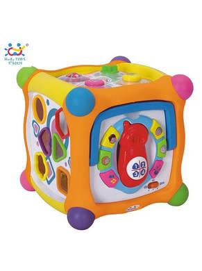 Волшебный кубик (звук. эффекты) «Huile Toys» (936), фото 2