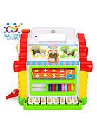 Развивающие и обучающие игрушки «Huile Toys» (739) Веселый домик (звук. эффекты)