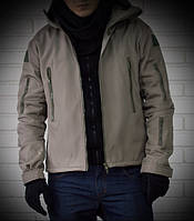 Тактическая мужская куртка с капюшоном. Ветрозащитная., фото 1