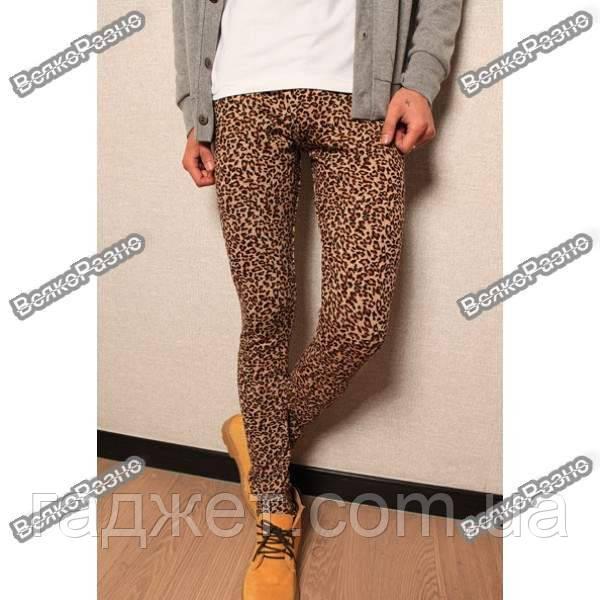 Леопардовые лосины