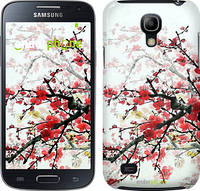 "Чехол на Samsung Galaxy S4 mini Duos GT i9192 Цветущий куст ""831c-63"""