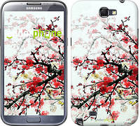 "Чехол на Samsung Galaxy Note 2 N7100 Цветущий куст ""831c-17"""