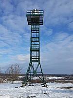 Монтаж вышек для наблюдения высотой 23м.