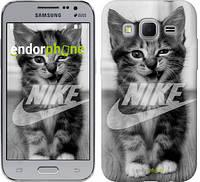 "Чехол на Samsung Galaxy Core Prime VE G361H Спортивный котик ""2715c-211"""