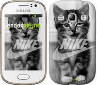 "Чехол на Samsung Galaxy Fame S6810 Спортивный котик ""2715u-254"""