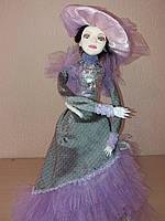 """Интерьерная кукла """"Фаворитка Лорен"""" Подарок  для любимых женщин и девушек .Авторская работа"""