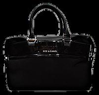 Стильная объемная женская сумка черного цвета MEE CAROL ( WRQ-199701)
