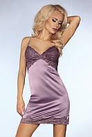 Женственный фиолетовый пеньюар из сатина Monserrat TM Livia Corsetti (Польша)