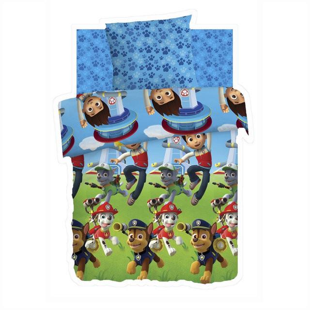 Детский постельный комплект «Райдер и щенки», Щенячий патруль