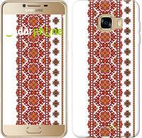 """Чехол на Samsung Galaxy C5 C5000 Вышиванка 13 """"580u-301"""""""