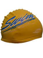 Шапочка для плавания SPRINTER. SWIM(Желтая). Шапочка для плавання SPRINTER.