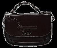 Интересная женская сумочка из натуральной кожи коричневого цвета (MSS-093001), фото 1