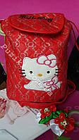 Детский рюкзак Китти Красный