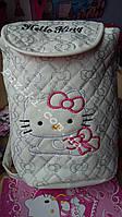 Детский рюкзак Китти Белый