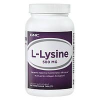 GNC L-LYSINE 500, 100 tab