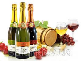 Игристое вино Fragolino Fiorelli Bianco п/сл Земляника,Белое,красное,персик 0.750мл Италия . Купить в Киеве