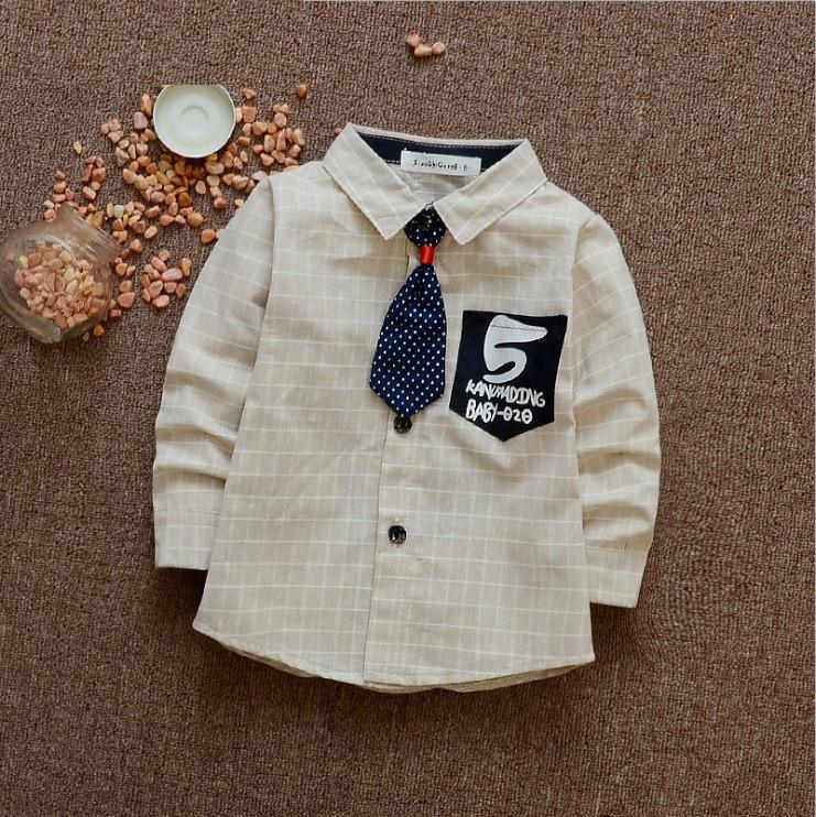 Сорочка стильна дитяча для хлопчика 80 см