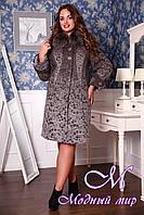 Женское теплое зимнее пальто (р. 48-60) арт. 699 Rumba 2 Тон 105