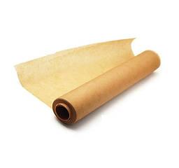 Пергаментная бумага 42см 10м Крафт