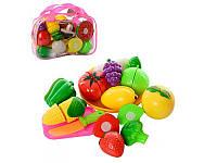 Игрушечный набор разрезные овощи и фрукты