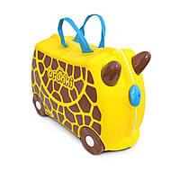 Детский чемоданчик на колесах Trunki GERRY GIRAFFE TRU-0265