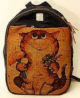 Джинсовый рюкзак нам хорошо, фото 1