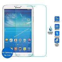 """Защитное стекло на экран прозрачное для Sаmsung Tab 3 8""""(T310), влажная/сухая салфетки, BOX"""