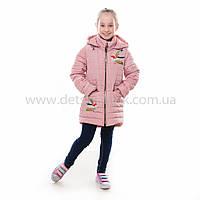 """Детская  куртка  демисезонная для девочки """"Колибри"""" с капюшоном,новинка 2017года, фото 1"""