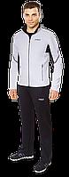 Мужской черно-белый спортивный костюм F50 (р. 46-54) арт. 237В