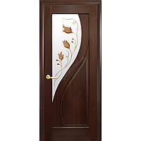 Межкомнатная дверь Прима со стеклом рисунок  Р-1