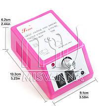 Фрезер для маникюра и педикюра Mercedes Lina 2000 на 20000 оборотов (розовый), фото 2