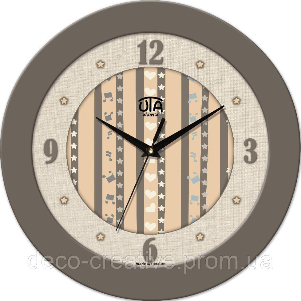 """Годинник настінний ЮТА """"Fashion"""" 330Х330Х45мм 02 FBe"""