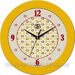 """Годинник настінний ЮТА """"Fashion"""" 330Х330Х45мм 01 FY"""